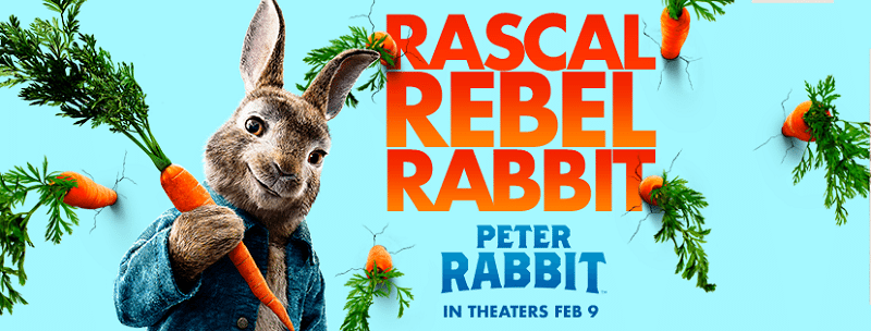 Peter Rabbit In Miami - Peter Rabbit Walkabout Tour Locations In The US