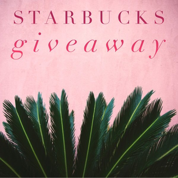 Enter to win the $100 Starbucks Gift Card giveaway and treat yourself to something hot, or cold, and delicious! How many lattes could you buy if you won?