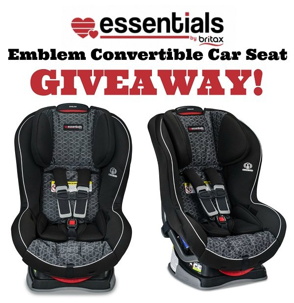 In the market for a new car seat? Learn more about the Essentials by Britax Emblem Convertible Car Seat and enter to win one for your little one!