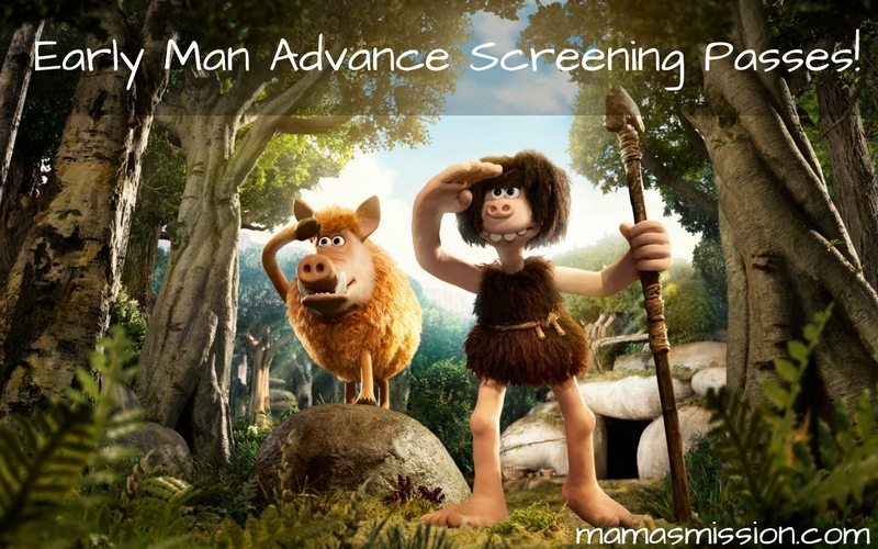 Get your free Early Man advance screening passes and see it before anyone else! Enjoy a family movie date as Early Man takes you on an adventure through the beginning of time.