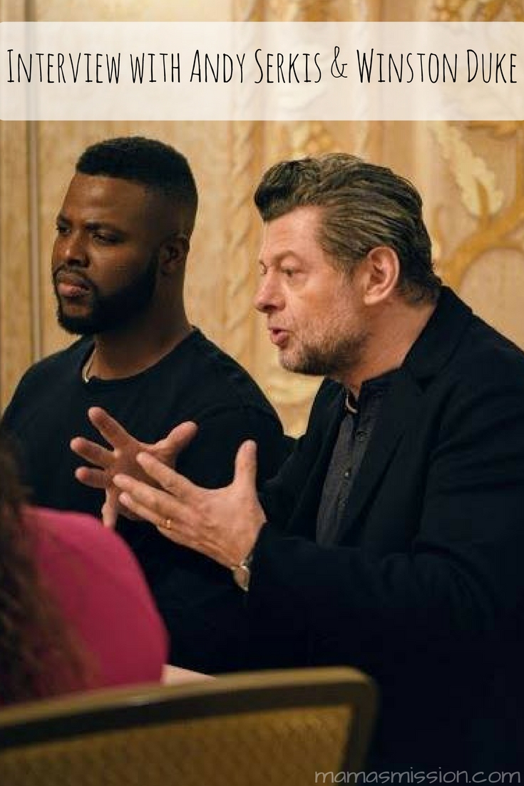Newcomer Winston Duke and returning villain Andy Serkis, aka Klaw, are so vital to the Black Panther movie I couldn't picture it without them. Grab a cup of coffee while you dive into my interview with Andy Serkis and Winston Duke!
