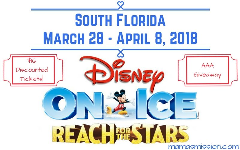 Get ready to see all your favorite Disney friends and Princesses with $16 discounted tickets for Disney On Ice Reach For The Stars with this exclusive promo code and enter to win a family 4 pack too!