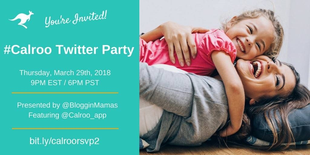 Get your entire family on track with the Calroo Family Organizer App! Learn more about this all in one family scheduling app at the Calroo Family Organizer App Twitter Party on 3/29 at 9pm EST. You must RSVP to be eligible to win prizes. #Calroo
