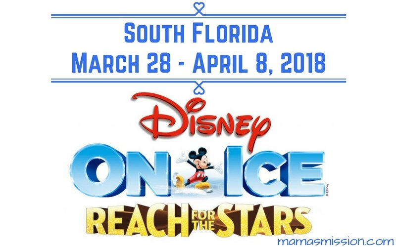 Disney on Ice presents Reach For The Stars is coming to South Florida. Save $5 off tickets for Disney On Ice for a magical experience with all of your favorite Disney characters!
