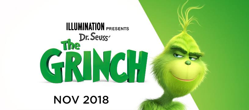 Dr. Seuss' The Grinch is returning to theatres voiced by Academy Award nominee Benedict Cumberbatch! He's a mean one - Mr. Grinch. Check out the just released The Grinch movie trailer!