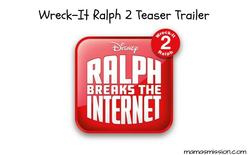 Ralph is back, and this time he's ready to break the internet! Check out the Ralph Breaks The Internet: Wreck-It Ralph 2 Teaser Trailer and get ready to laugh until you cry!