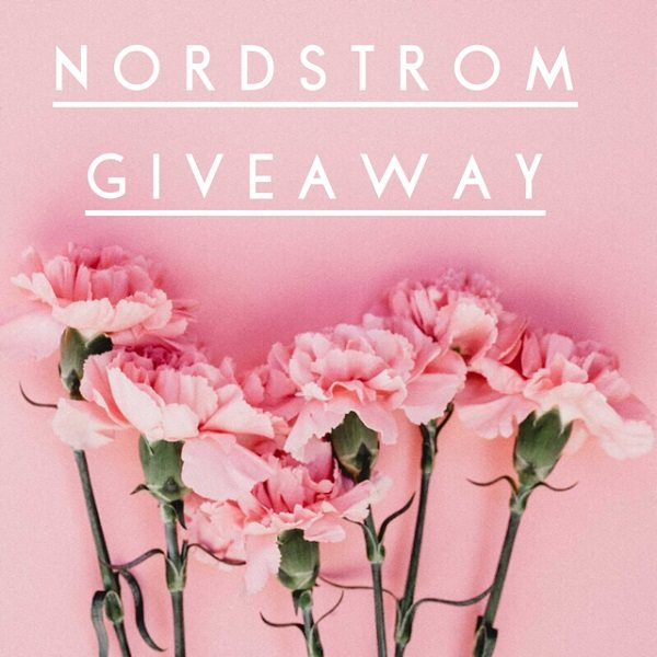 Enter to win the $100 Nordstrom Gift Card giveaway and treat yourself to something fashionable and fun! What would you buy with a $100 Nordstrom gift card?