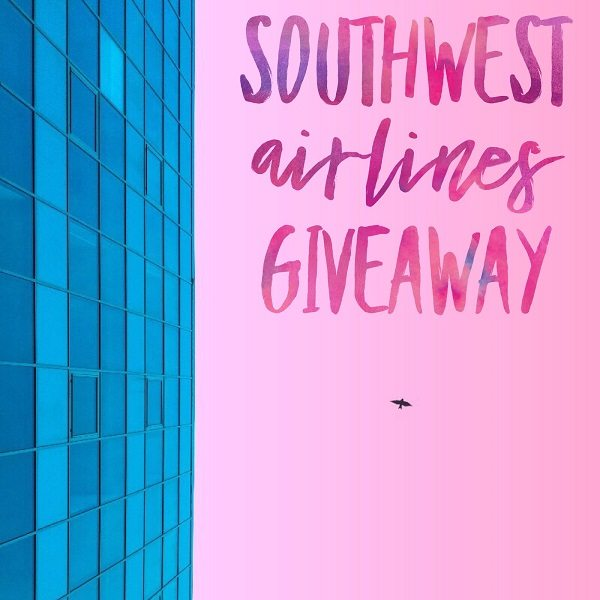 Enter to win the $150 Southwest Airlines Gift Card giveaway and take a flight to your favorite destination! Where would you travel to on Southwest Airlines?