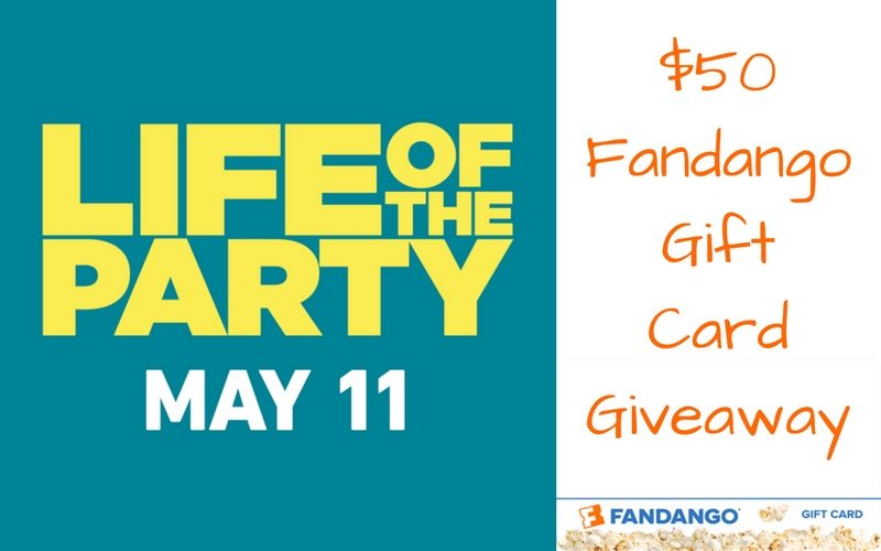 What if you could go back to college and study anything? Imagine doing it at the same time as your child! Hang on to your cap and gown as Melissa McCarthy starts in Life Of The Party this Mother's Day weekend. Enter the $50 Fandango Gift Card giveaway and take your Mama to see Life Of The Party for Mother's Day.