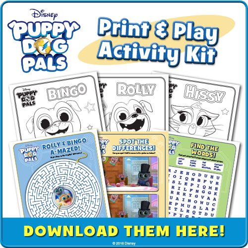 Disney Puppy Dog Pals Printable