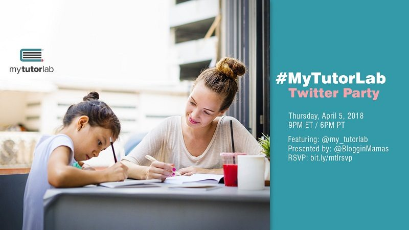 Looking for a tutor for your child? The My Tutor Lab app, with services in Florida, is an easy way to connect with a qualified tutor for your child. Learn more about this all in one tutor scheduling app at the My Tutor Lab Twitter Party on 4/5 at 9pm EST. You must RSVP to be eligible to win prizes. #MyTutorLab