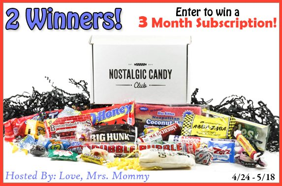 Looking to feed your sweet tooth with memories of the past? The Nostalgic Candy Club has you covered! You can nosh on nostalgic candy delivered monthly right to your door. Candy from your childhood, curated for you and delivered to your home. Enter to win a 3 month subscription in the Nostalgic Candy Club giveaway!