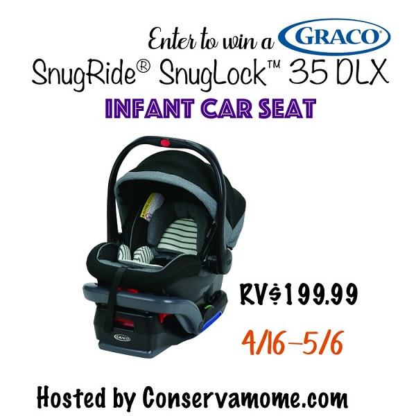 Looking for the perfect way to start off the welcoming of a new baby in your life? Check out the Graco Baby Registry for a chance to score a bonus package of goodies. Learn more about the SnugRide SnugLock 35 DLX and enter to win the Graco Infant Car Seat giveaway!