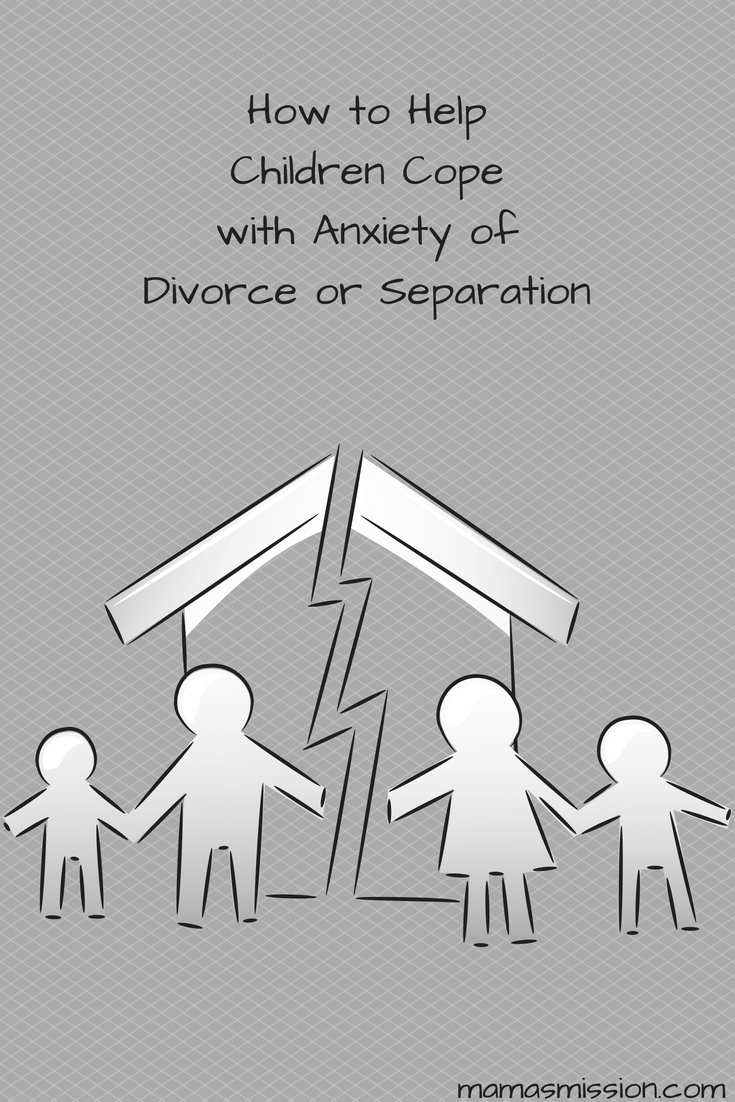 Divorce or a separation is a tough time for everyone involved, but it can be especially tough on the children. Speaking to a professional about how to help children cope with anxiety of divorce or separation early on can make things a little easier for everyone.