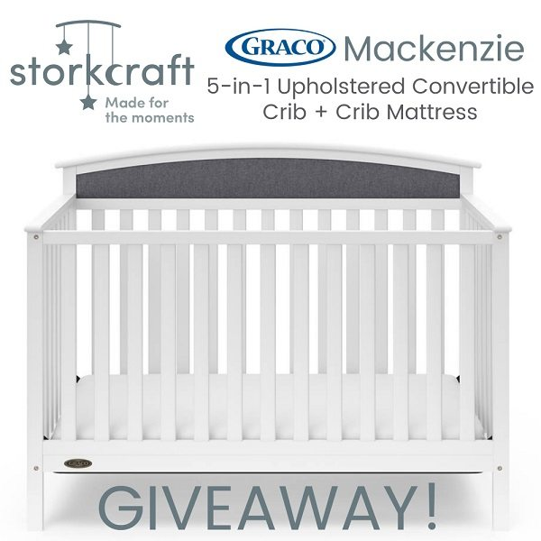 Welcoming a new baby is always a beautiful time. Enter to win the Storkcraft Graco Crib and Mattress giveaway to take one extra thing off your to do list so you can focus on what matters most, welcoming your precious bundle of joy!