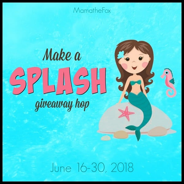 I've joined together with some blogger friends for a fun Make A Splash Giveaway Hop - which includes my own personal $10 PayPal Cash giveaway!