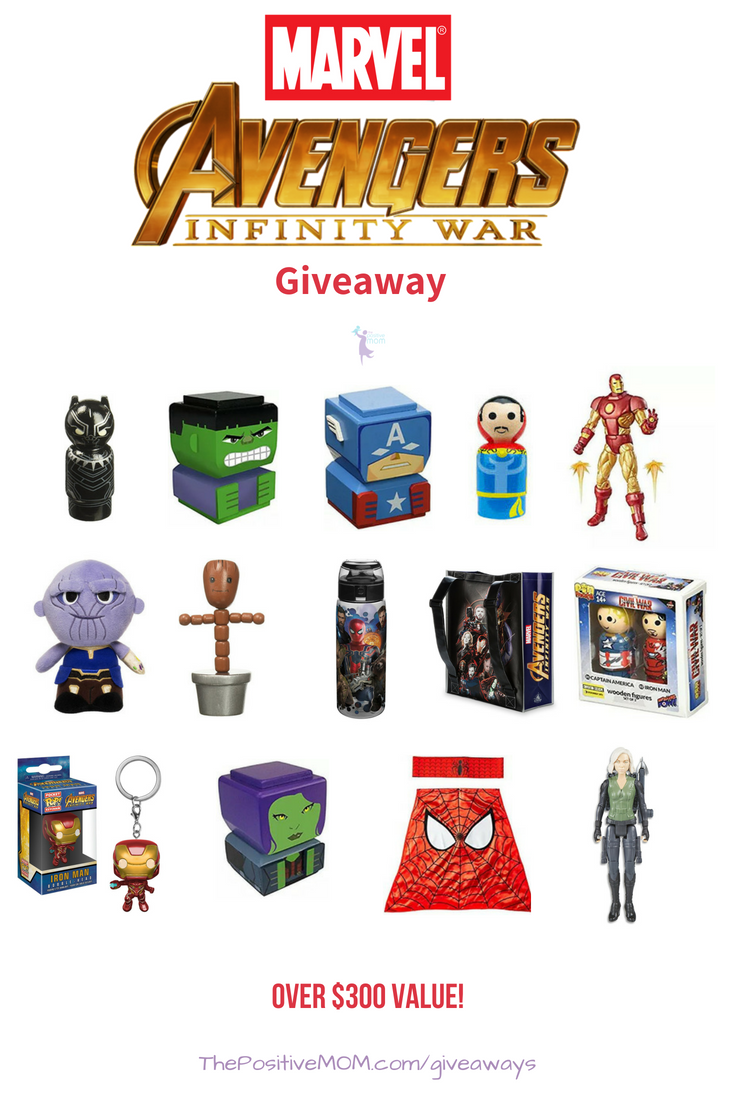 We are giving one lucky reader the chance to win a amazing merchandise in the Avengers Infinity War Gift Pack giveaway happening right here!