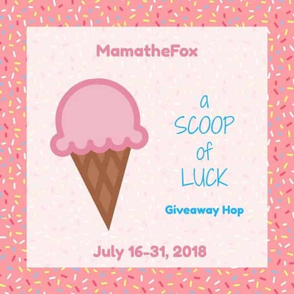 I've joined together with some blogger friends for a fun Scoop Of Luck Giveaway Hop - which includes my own personal $10 Amazon Gift Card giveaway.