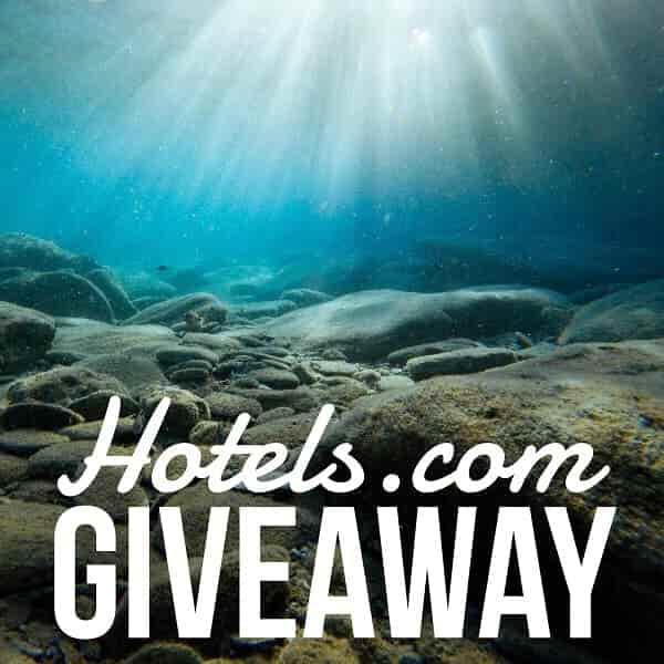 Enter to win the $100 Hotels.com Gift Card giveaway and take a trip to your favorite destination! Where would you travel with a $100 Hotels.com Gift card?