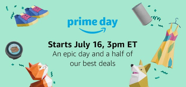 If you've been thinking about signing up for Amazon Prime, now is the time to do it because the Amazon Prime Day sale is only available to Prime Members!