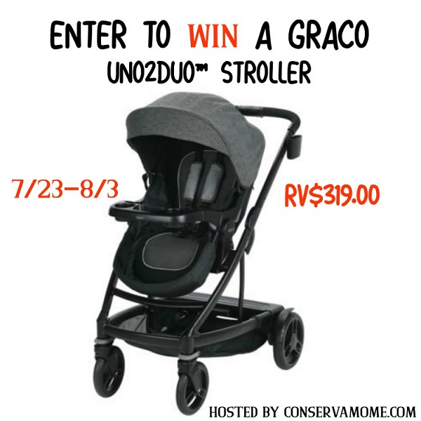 The newest stroller from Graco that grows with your family, the Graco UNO2DUO stroller. Learn more and enter to win the Graco UNO2DUO Stroller giveaway!