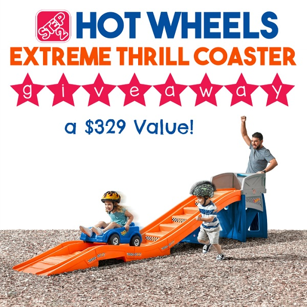The Step2 Hot Wheels Extreme Thrill Coaster is like no other outdoor toy. Learn more and enter to win one for your backyard adventures!