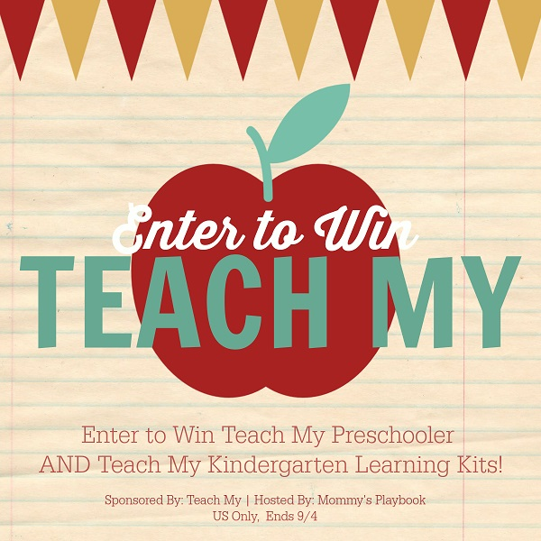 It's time for the kids to head back to school. Enter to win the Teach My prize pack giveaway for preschoolers and kindergartners to help them succeed!