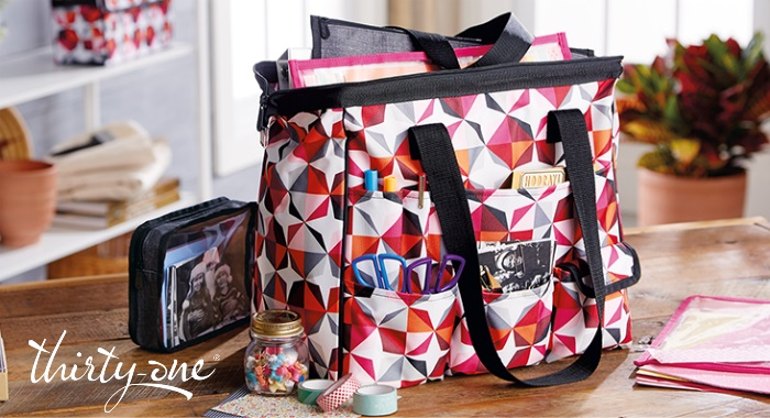 Are you a crafter looking for a way to store your projects? Learn more about the Get Creative collection and enter to win the Thirty-One Gifts Get Creative Package Giveaway!