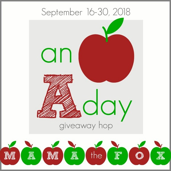 I've joined together with some blogger friends for An Apple A Day Giveaway Hop - which includes my own personal $10 Amazon Gift Card giveaway.