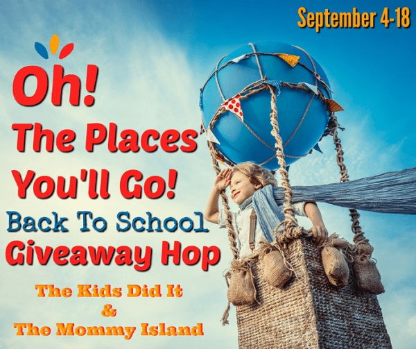 I've joined together with some blogger friends for a Back To School Giveaway Hop - which includes my own personal $10 Amazon Gift Card giveaway.