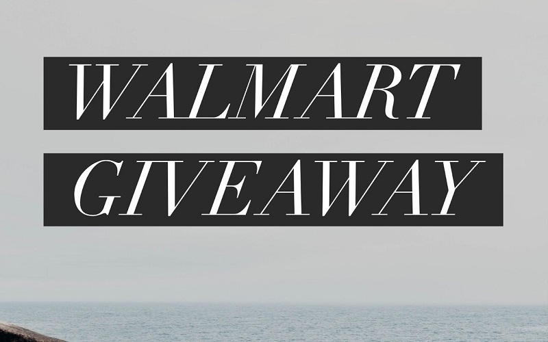 Enter to win the $100 Walmart Gift Card giveaway and let your fingers do the shopping for you! What would you buy with a $100 Walmart Gift Card?