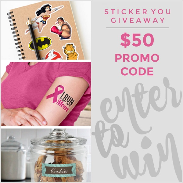 Sticker You is the perfect solution for labeling school supplies and clothes. Enter for your chance to win the $50 Sticker You Gift Card giveaway.