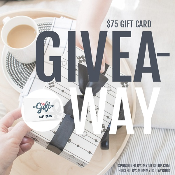 Imagine you only had to make one stop to be able to buy all the gifts you needed? To get you started MyGiftStop.com is sponsoring a $75 Gift Card giveaway.