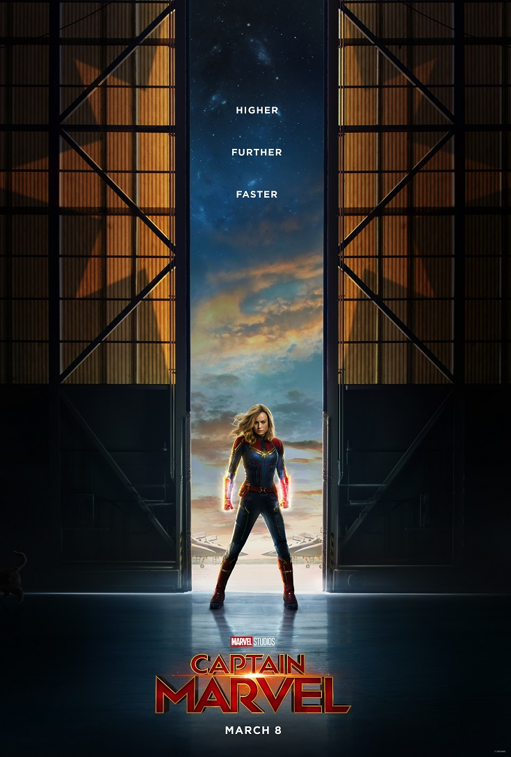 Captain Marvel is coming to theatres on March 8, 2019. Check out the Captain Marvel movie trailer from Marvel Studios and pre-order your tickets today!
