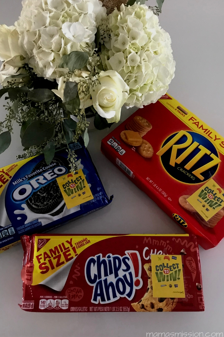 How would you like a chance to win $10,000 simply by buying your favorite snacks? Now's your chance in the Collect To Win at Walmart promotion with Nabisco!
