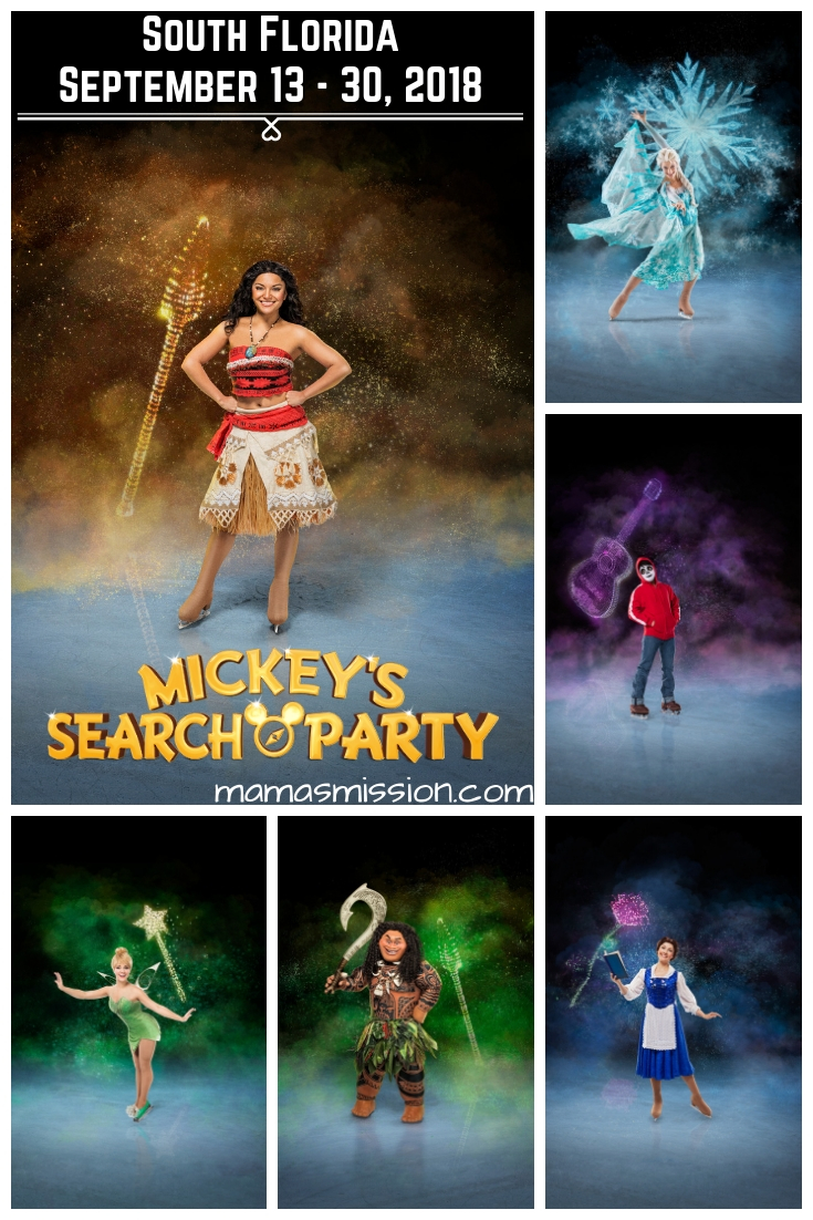 Disney on Ice presents Mickey's Search Party is coming to South Florida. Save $5 off tickets with this Disney on Ice promo code for a magical experience!