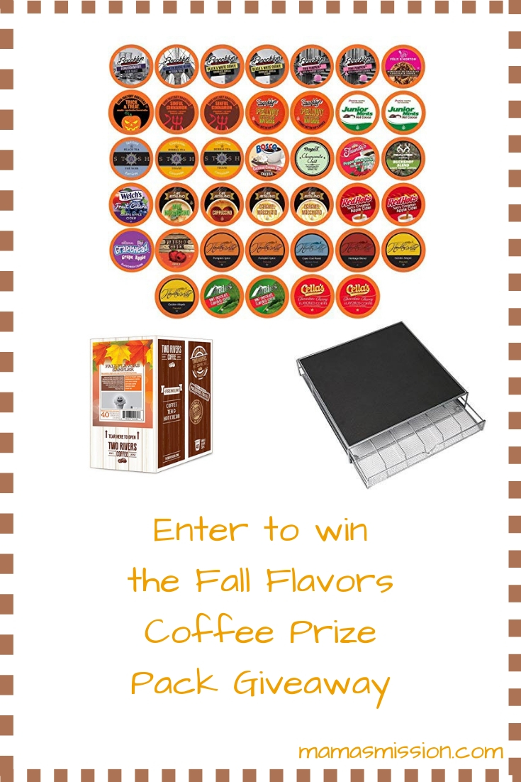 Fall in love with the sweet aroma of the fall season. Enter to win a fall flavors coffee prize pack for your chance to sample delicious fall favorites.