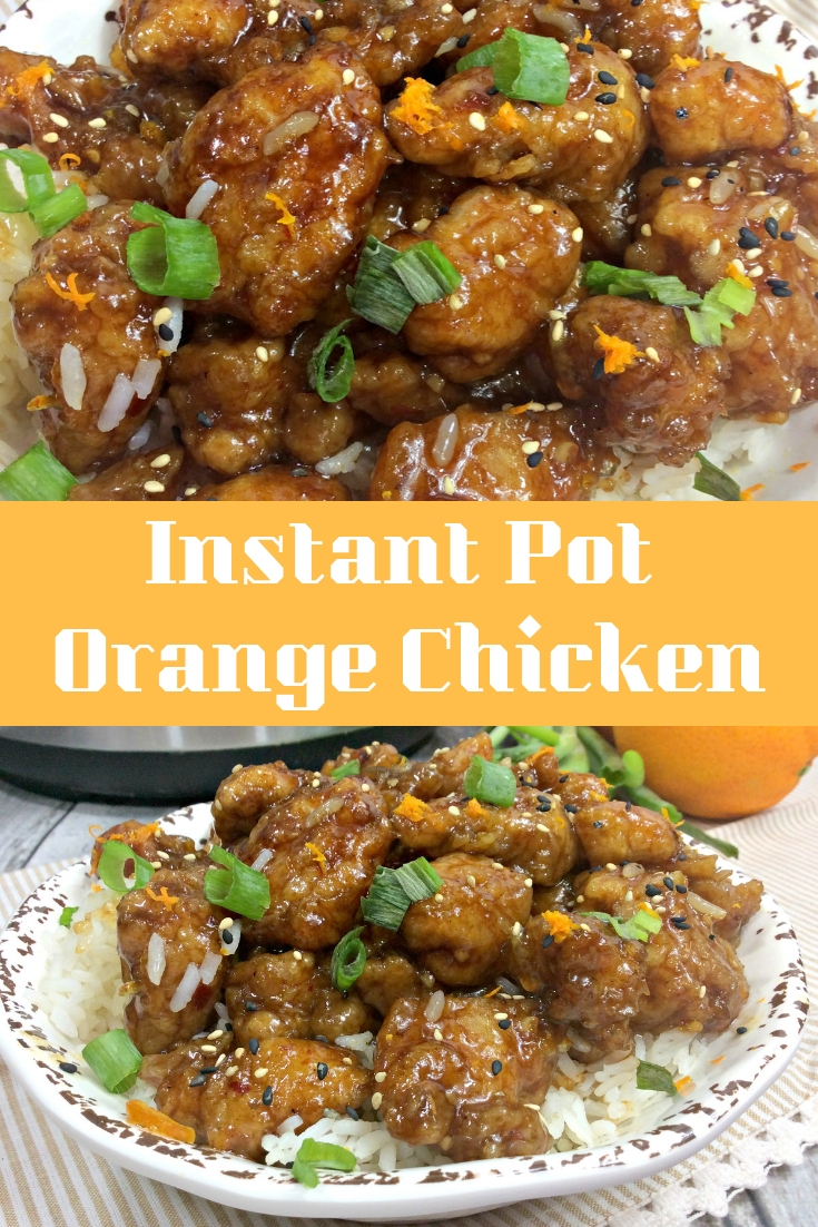 If you enjoy eating Orange Chicken, you are going to love this delicious Instant Pot Orange Chicken Recipe! Make it at home so you can enjoy it more often.
