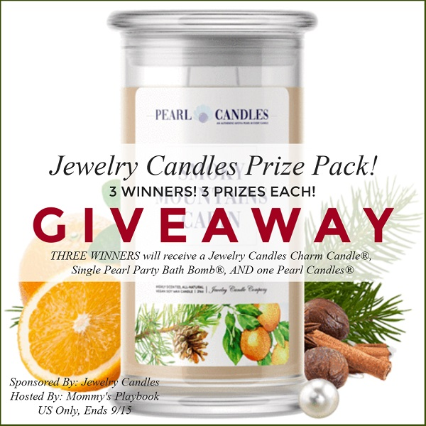 Love candles? The Jewelry Candles all have a special surprise in them just for you! Enter to win the Jewelry Candles Prize Pack giveaway to collect a pearl.