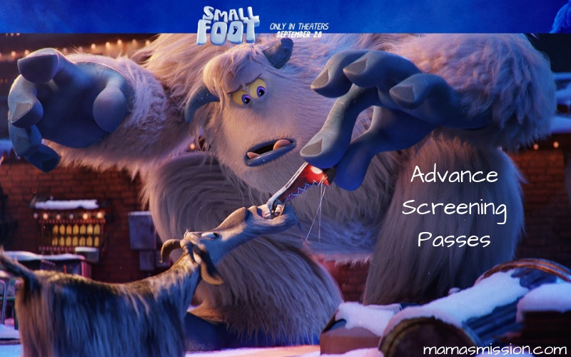 Take the family out for a fun movie date with these free Smallfoot advance screening passes and see it before anyone else.