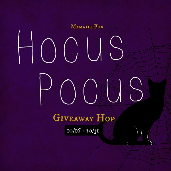 I've joined together with some blogger friends for a Hocus Pocus Giveaway Hop - which includes my own personal $10 Amazon Gift Card giveaway.