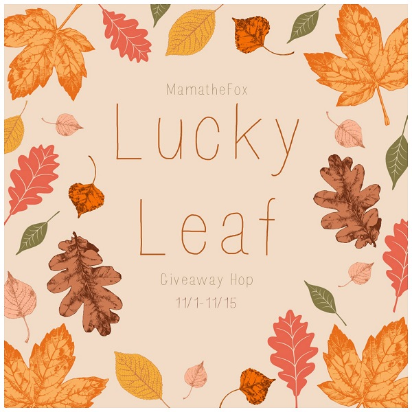 I've joined together with some blogger friends for a Lucky Leaf Giveaway Hop - which includes my own personal $10 Amazon Gift Card giveaway.