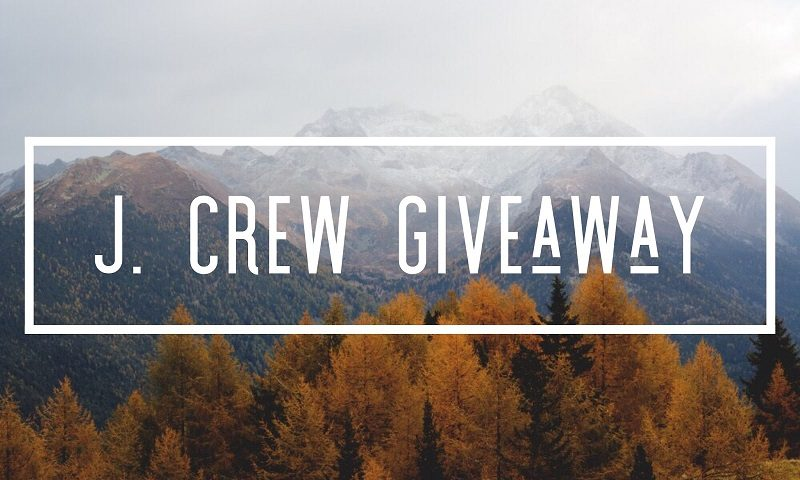 Enter to win the $100 J Crew Gift Card giveaway and treat yourself to a mini shopping spree! What would you buy with a $100 J Crew gift card if you won?