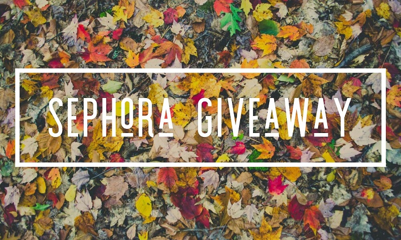 Enter to win the $100 Sephora Gift Card giveaway and treat yourself to a new palette of awesome! What would you buy with a $100 Sephora gift card?