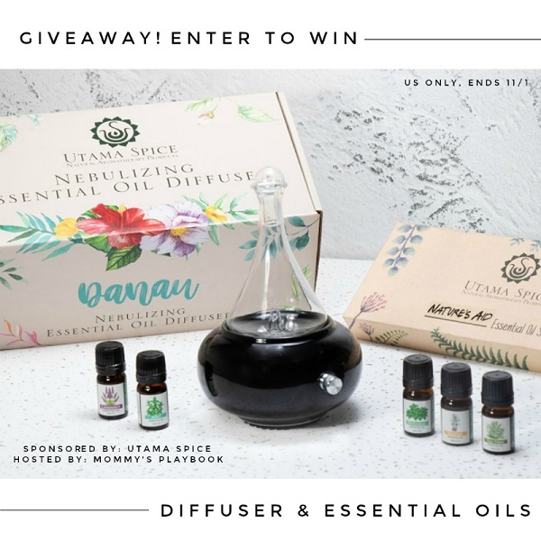 Have you been wanting to try out a diffuser and essential oils? Enter to win the Danau Dua Personal Diffuser & Essential Oils Set Giveaway!