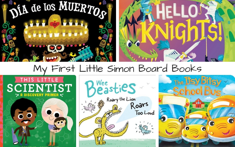 There is no gift more powerful than the gift of storytime. Get a head start with these Little Simon Board Books to introduce children to a world of books.