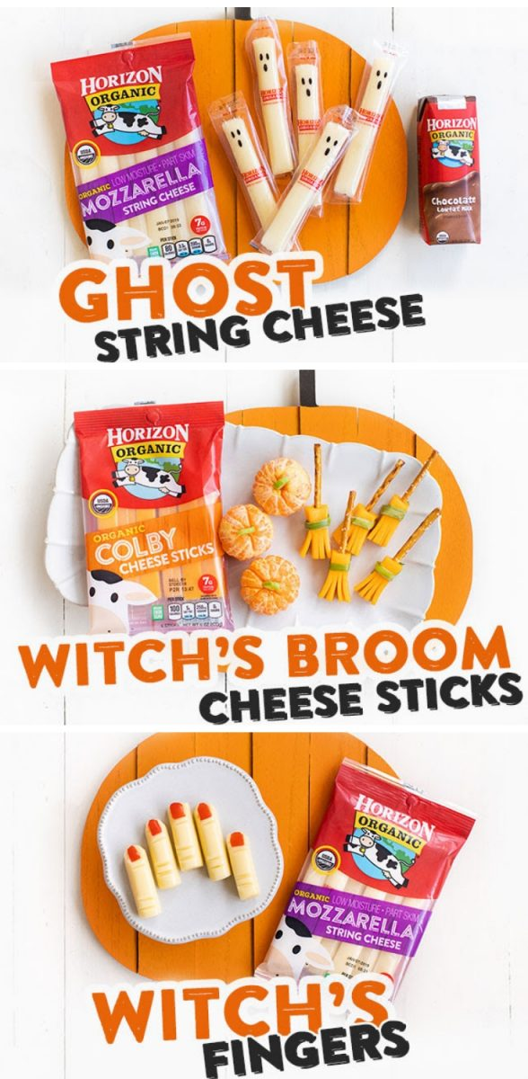 These Spooky Halloween Snacks are so easy and fun to make with the kids. Each one takes less than five minutes and requires little to no extra ingredients.