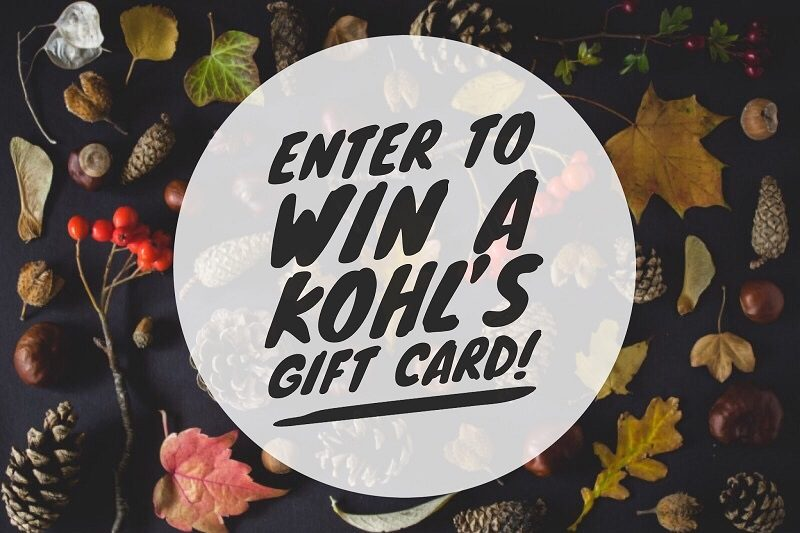 Enter to win the $200 Kohl's Gift Card giveaway and let your fingers do the shopping for you! What would you buy with a $200 Kohl's Gift Card?