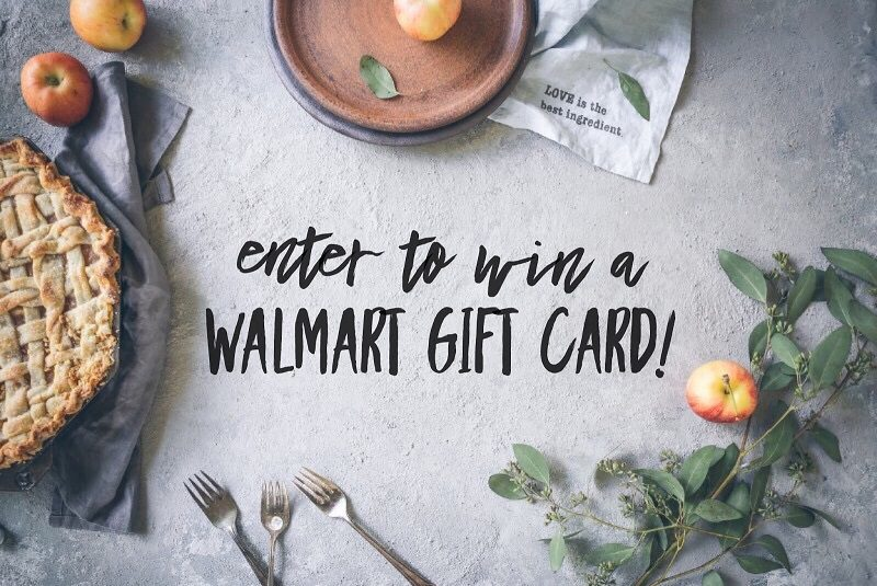Enter to win the $200 Walmart Gift Card giveaway and let your fingers do the shopping for you! What would you buy with a $200 Walmart Gift Card?