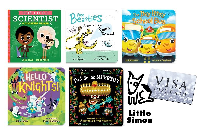 Want to start your first home library collection? Our first home library started with gifts from friends of their favorite board books. Enter to win one!
